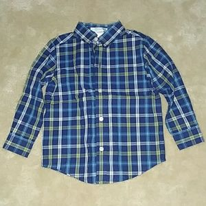 Janie and Jack Boy's Button Down 18-24m